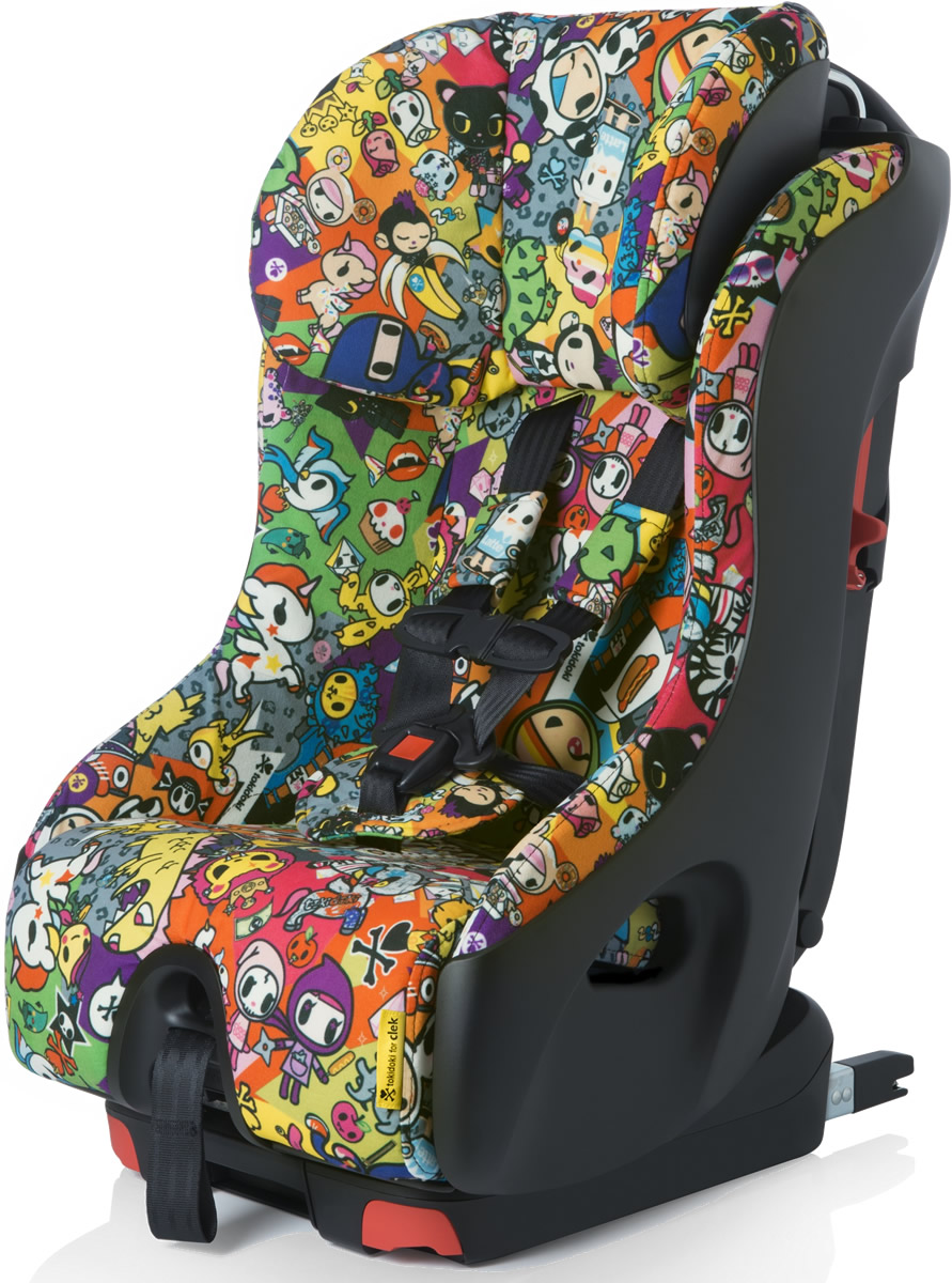clek fllo convertible car seat 2015 tokidoki all over. Black Bedroom Furniture Sets. Home Design Ideas