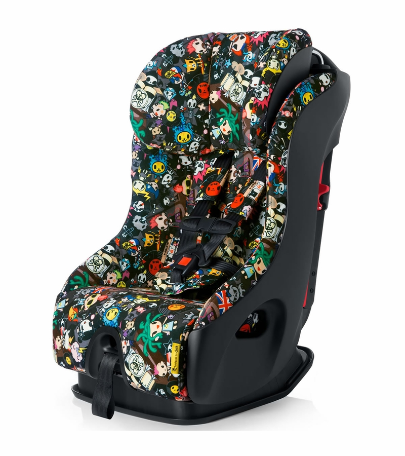 clek fllo convertible car seat tokidoki rebel. Black Bedroom Furniture Sets. Home Design Ideas
