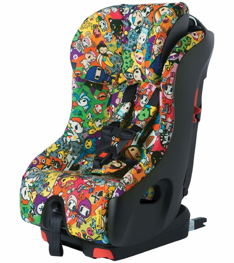 clek foonf 2015 convertible car seat tokidoki all over. Black Bedroom Furniture Sets. Home Design Ideas
