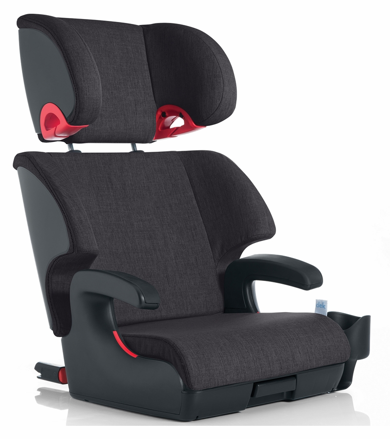clek oobr booster car seat slate. Black Bedroom Furniture Sets. Home Design Ideas