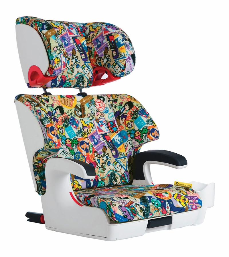 clek oobr booster car seat tokidoki travel. Black Bedroom Furniture Sets. Home Design Ideas