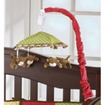 CoCaLo Baby 4 Lil' Monkeys Musical Mobile - D