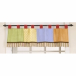 CoCaLo Baby 4 Lil' Monkeys Window Valance
