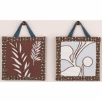 CoCaLo Natural Tranquil 2 Piece Wall Art