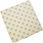 CoCaLo Snickerdoodle Fitted Sheet - Polka Dot