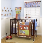CoCo & Company Road Work 4-Piece Crib Set