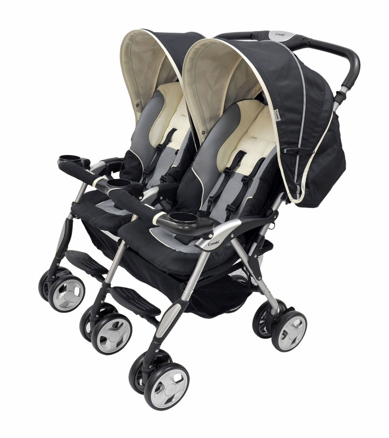combi twin sport double stroller manual