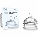 Comotomo Replacement Nipple 2-Pack - Medium Flow