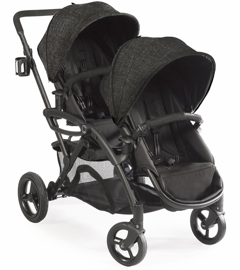 contours 2016 options elite double stroller carbon. Black Bedroom Furniture Sets. Home Design Ideas