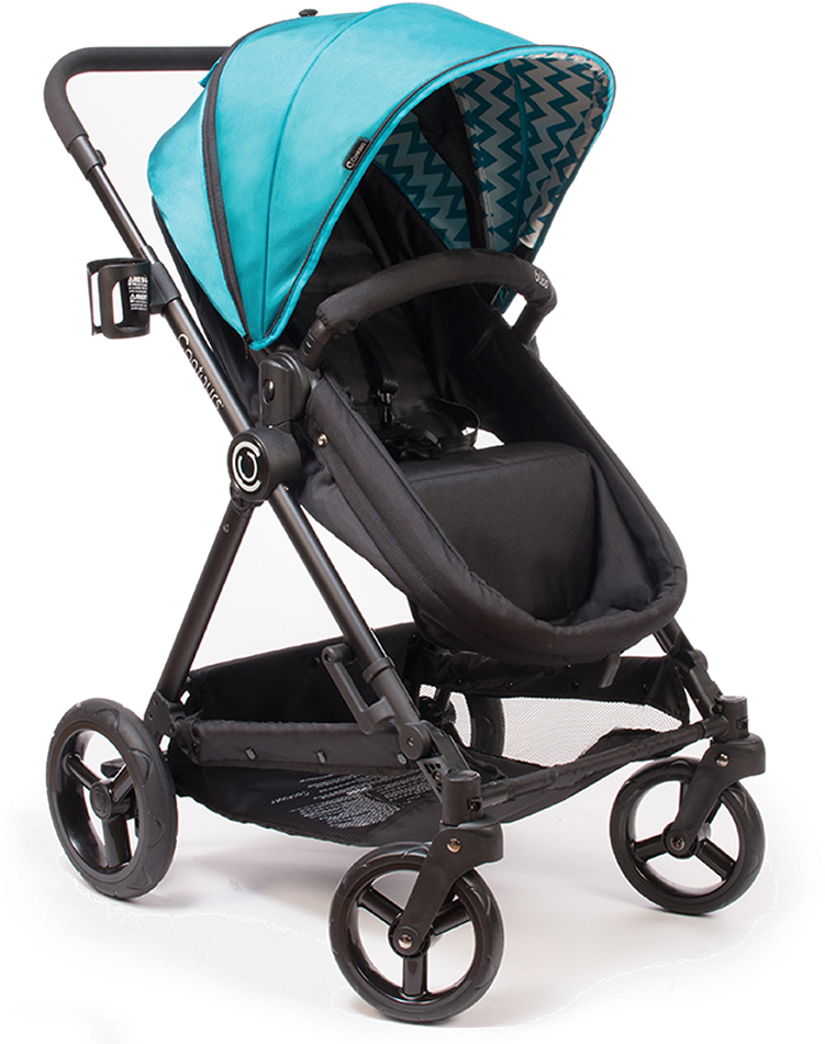 Contours Bliss 4-in-1 Convertible Stroller - Laguna Blue