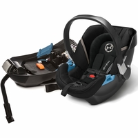 Cybex Aton 2 Infant Car Seat - Black Beauty