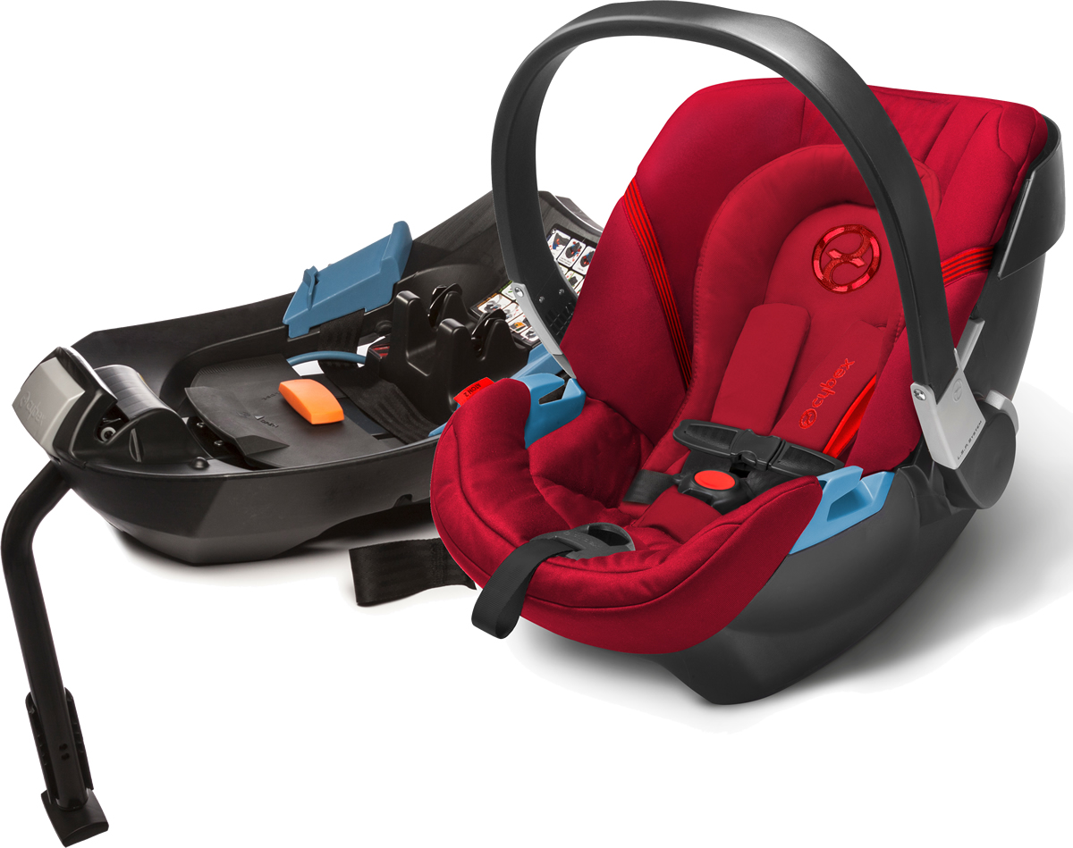 Avocent Aton 2 Infant Car Seat - Hot & Spicy