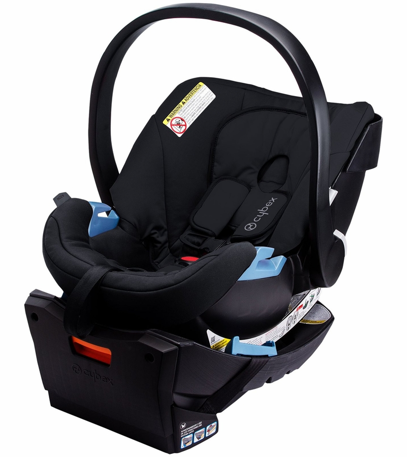 cybex aton infant car seat pure black. Black Bedroom Furniture Sets. Home Design Ideas
