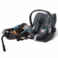 Cybex Aton Q Infant Car Seat - Black Sea