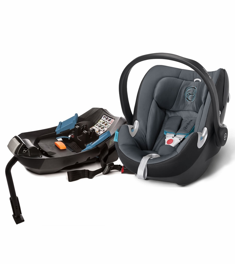 cybex aton q infant car seat black sea. Black Bedroom Furniture Sets. Home Design Ideas