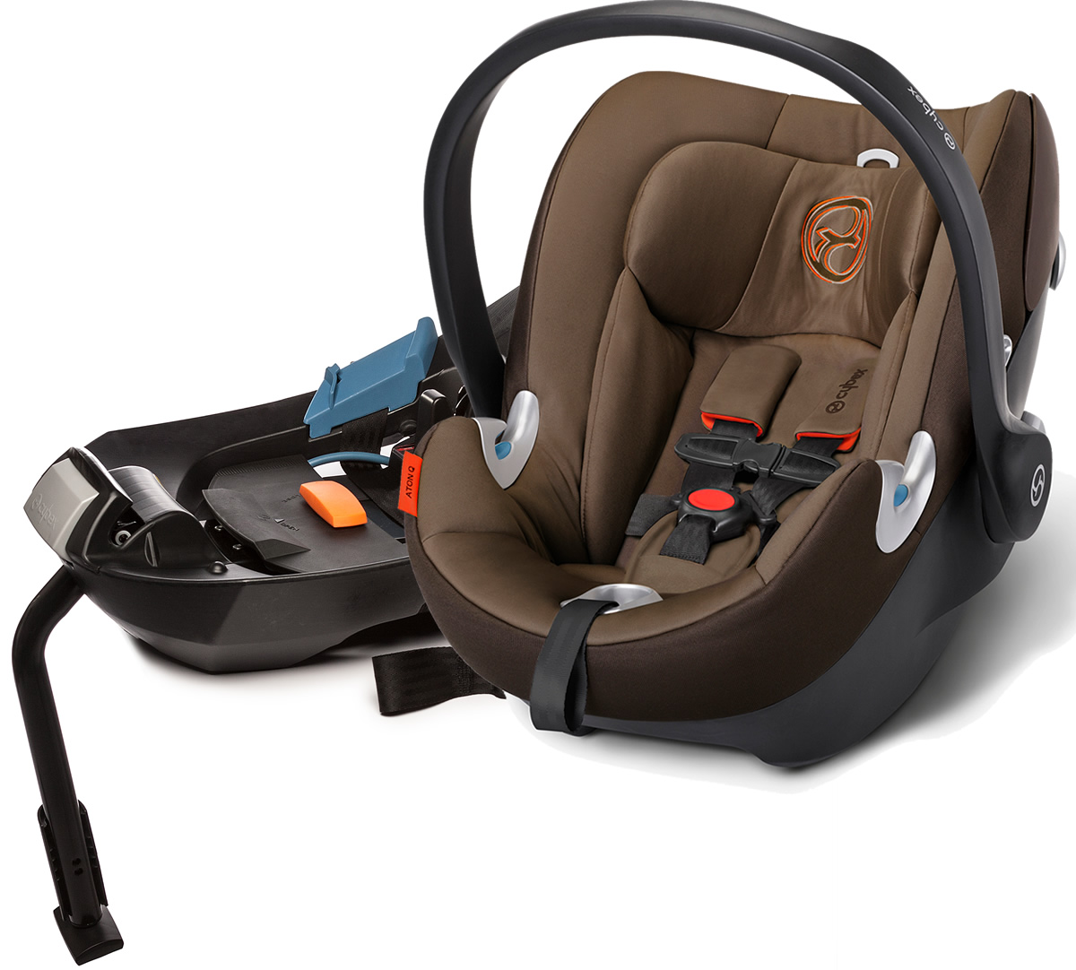Avocent Aton Q Infant Car Seat - Coffee Bean