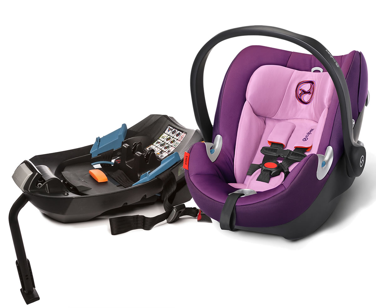 Avocent Aton Q Infant Car Seat - Grape Juice