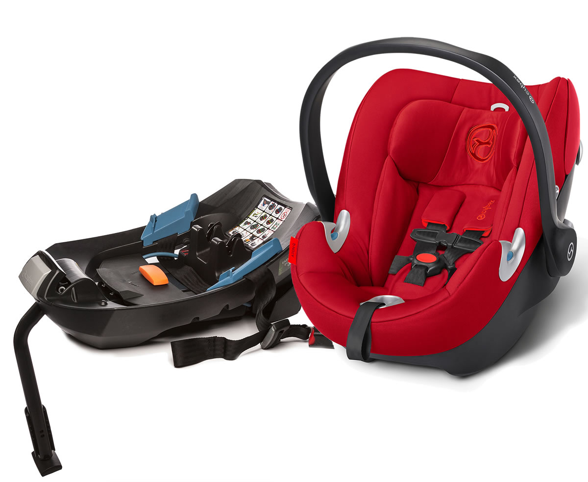Avocent Aton Q Infant Car Seat - Hot & Spicy