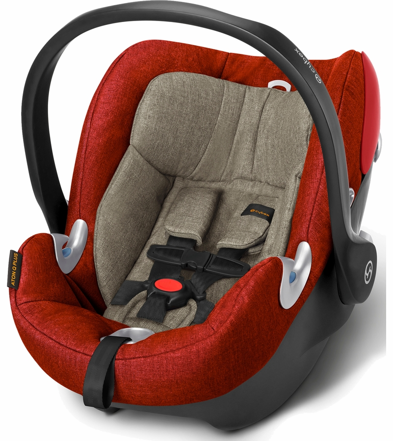 cybex aton q plus infant car seat autumn gold. Black Bedroom Furniture Sets. Home Design Ideas