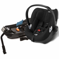 Cybex Aton Q Plus Infant Car Seat - Black Beauty