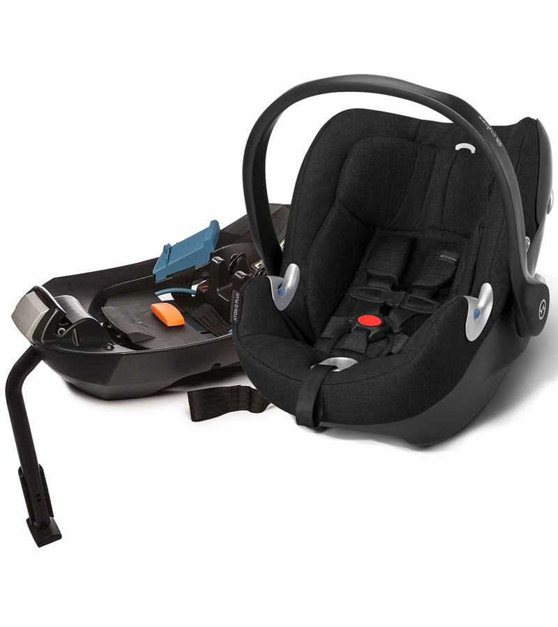 cybex aton q plus infant car seat black beauty. Black Bedroom Furniture Sets. Home Design Ideas