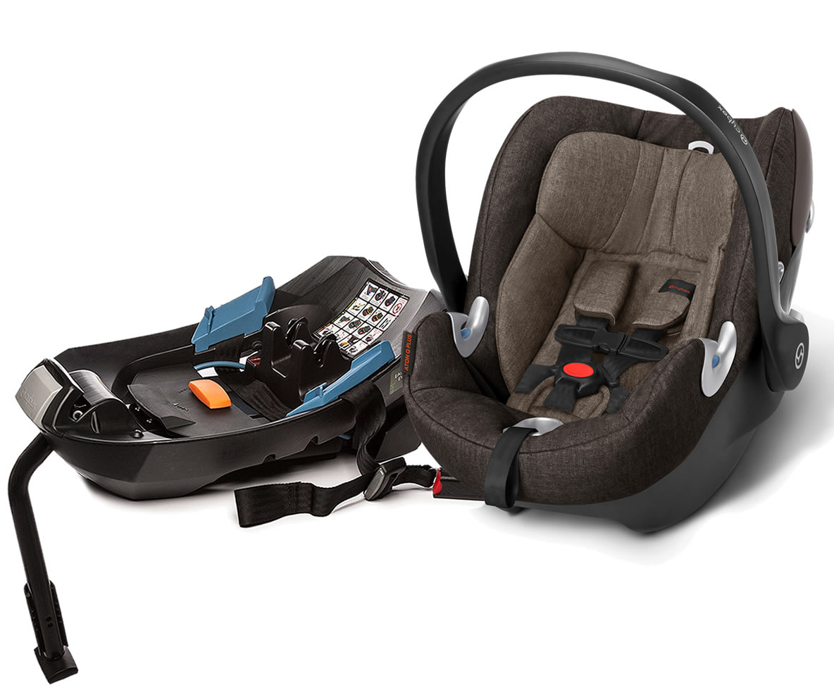 Avocent Aton Q Plus Infant Car Seat 2015 Desert Khaki