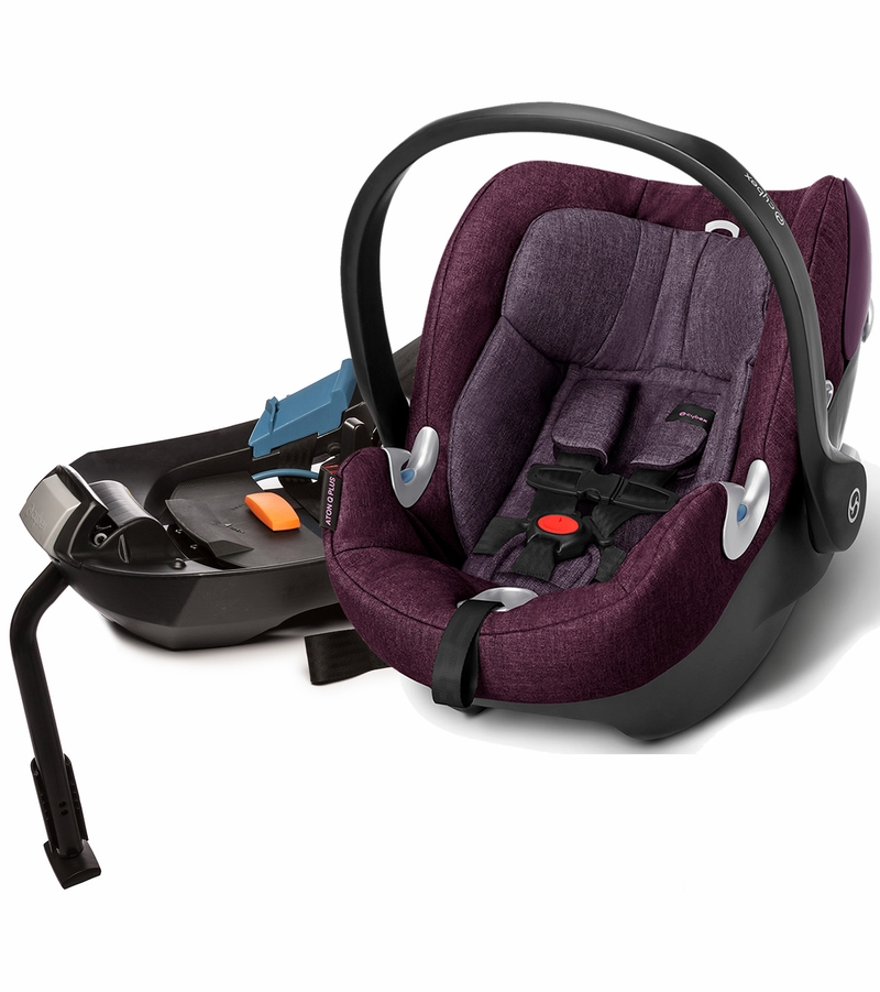 cybex aton q plus infant car seat grape juice. Black Bedroom Furniture Sets. Home Design Ideas