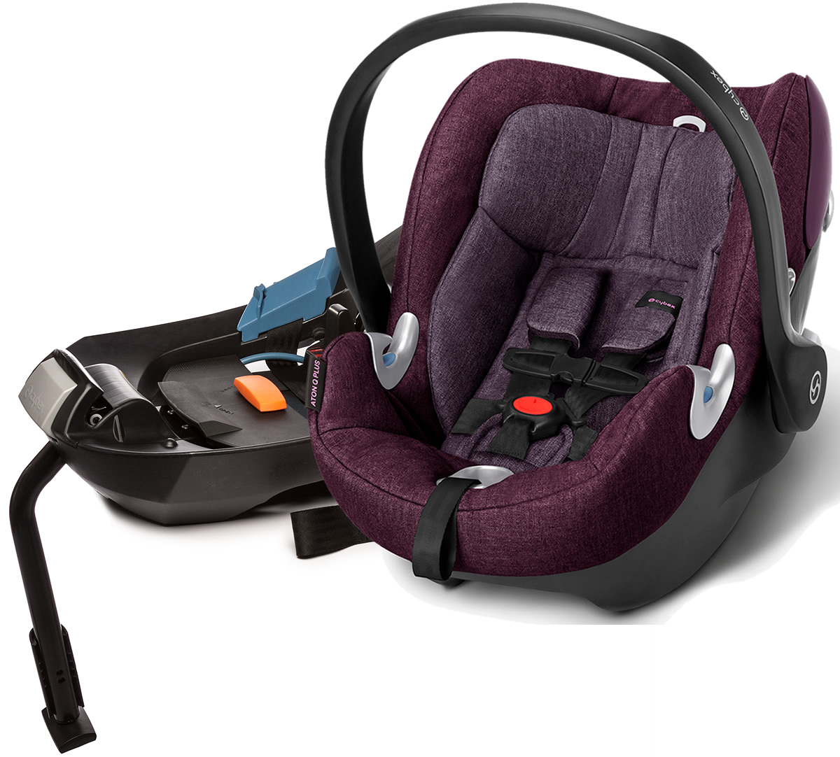 Avocent Aton Q Plus Infant Car Seat - Grape Juice