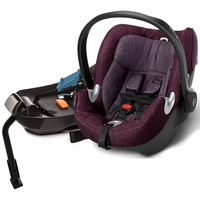 Cybex Aton Q Plus Infant Car Seat - Grape Juice