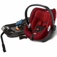 Cybex Aton Q Plus Infant Car Seat - Hot & Spicy