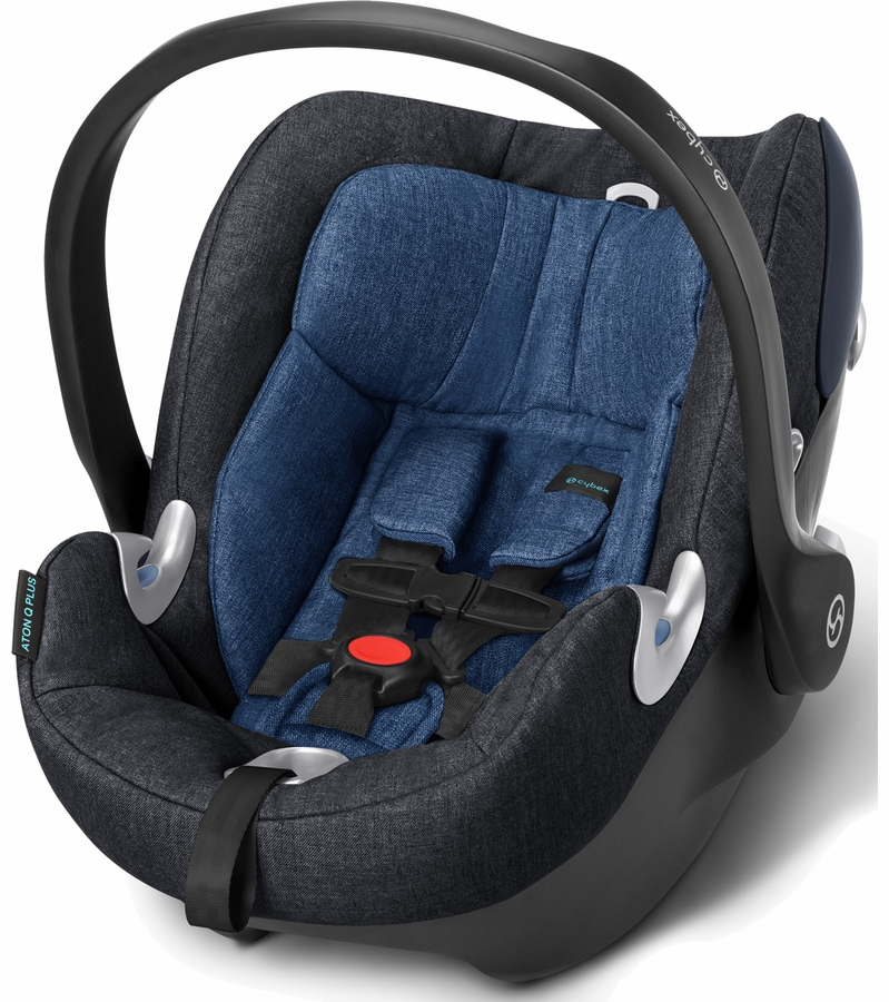 cybex aton q plus infant car seat true blue. Black Bedroom Furniture Sets. Home Design Ideas
