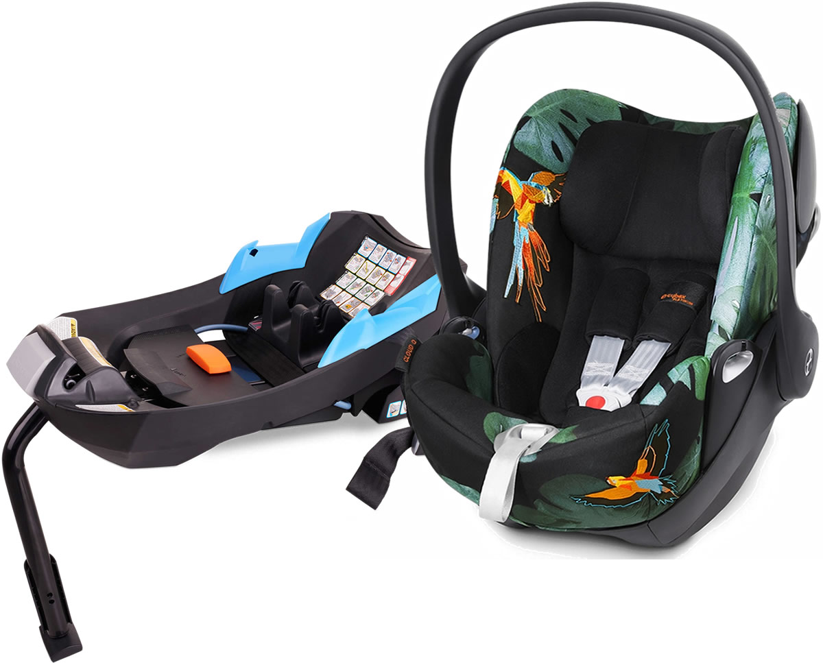 Avocent Cloud Q Infant Car Seat 2015 Birds of Paradise