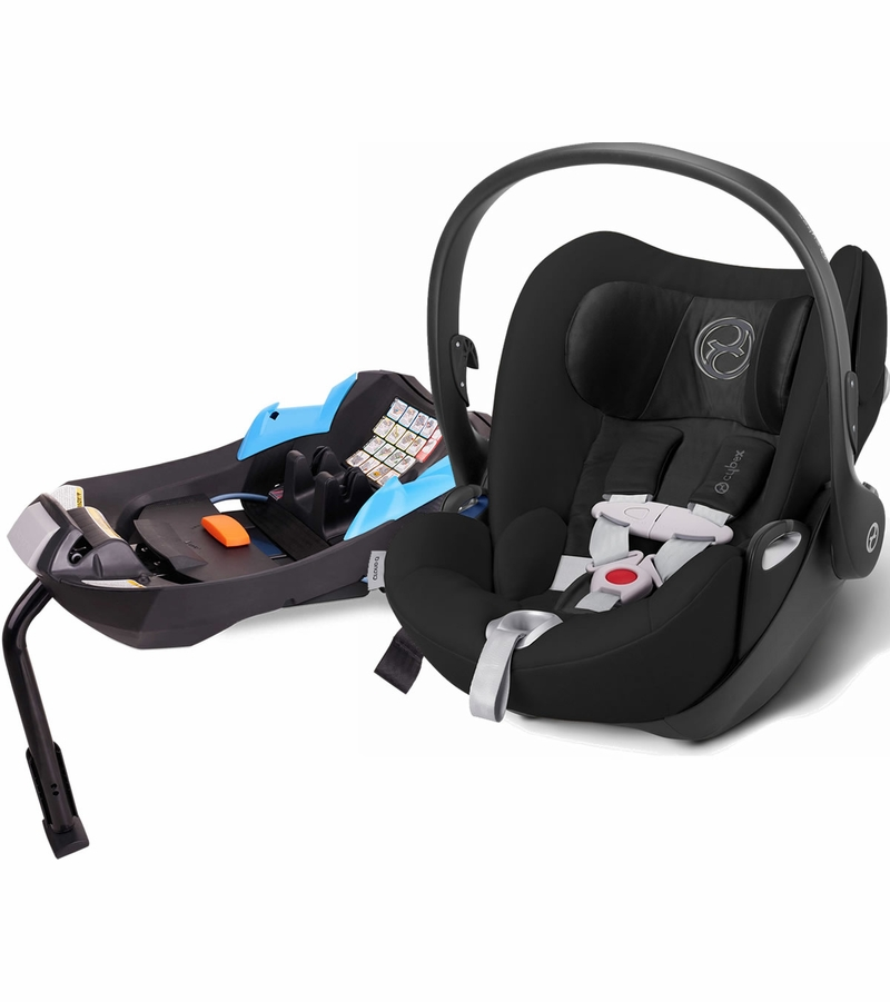 cybex cloud q infant car seat 2015 black beauty. Black Bedroom Furniture Sets. Home Design Ideas