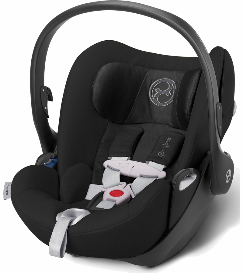 cybex cloud q infant car seat black beauty. Black Bedroom Furniture Sets. Home Design Ideas