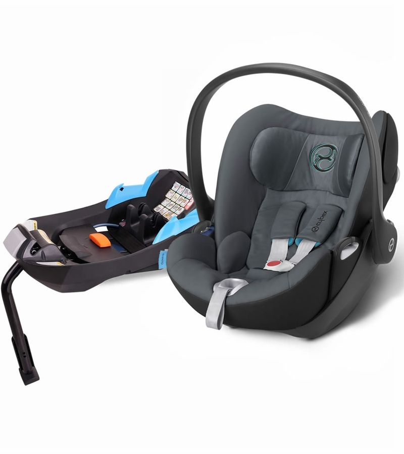cybex cloud q infant car seat 2015 black sea. Black Bedroom Furniture Sets. Home Design Ideas