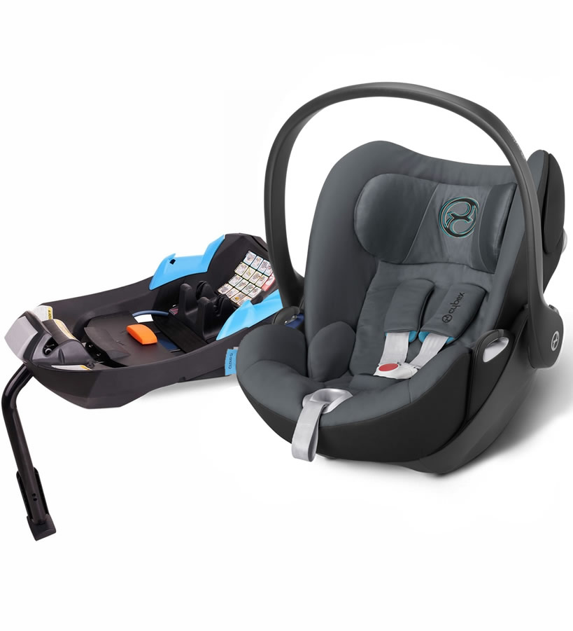 Avocent Cloud Q Infant Car Seat - Black Sea