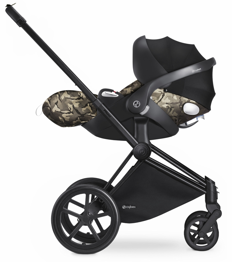 cybex cloud q infant car seat fashion edition butterfly. Black Bedroom Furniture Sets. Home Design Ideas