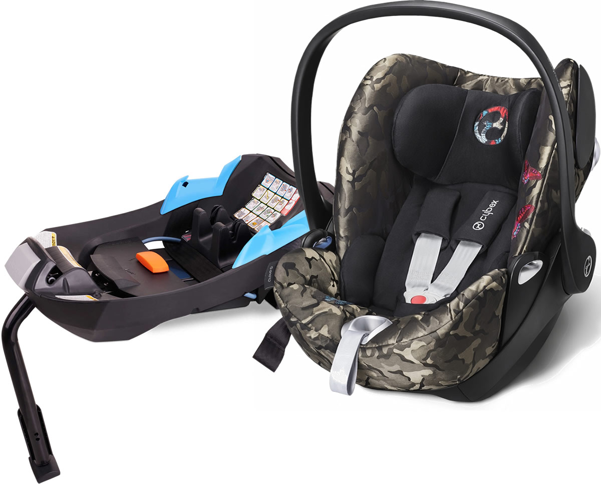 Avocent Cloud Q Infant Car Seat Fashion Edition - Butterfly