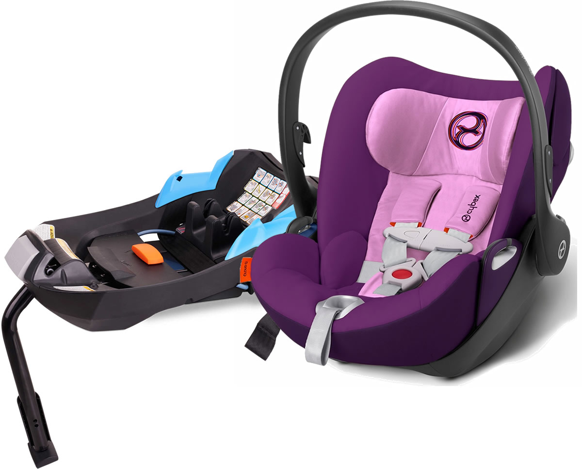 Avocent Cloud Q Infant Car Seat - Grape Juice