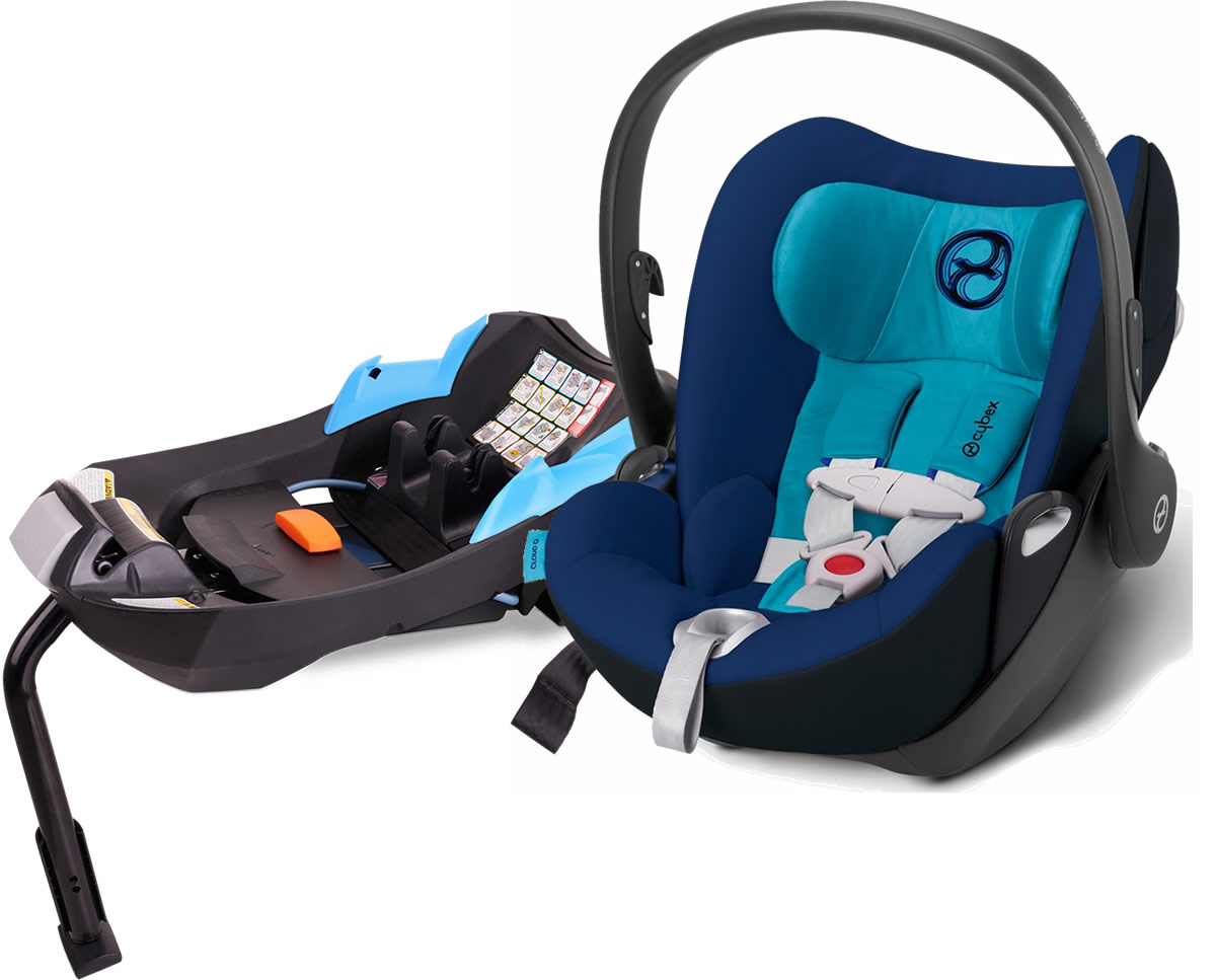 Avocent Cloud Q Infant Car Seat 2015 True Blue