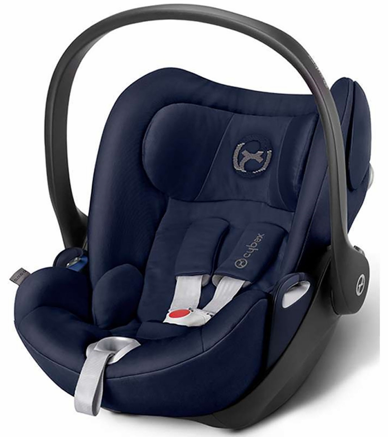 cybex cloud q plus infant car seat midnight blue. Black Bedroom Furniture Sets. Home Design Ideas