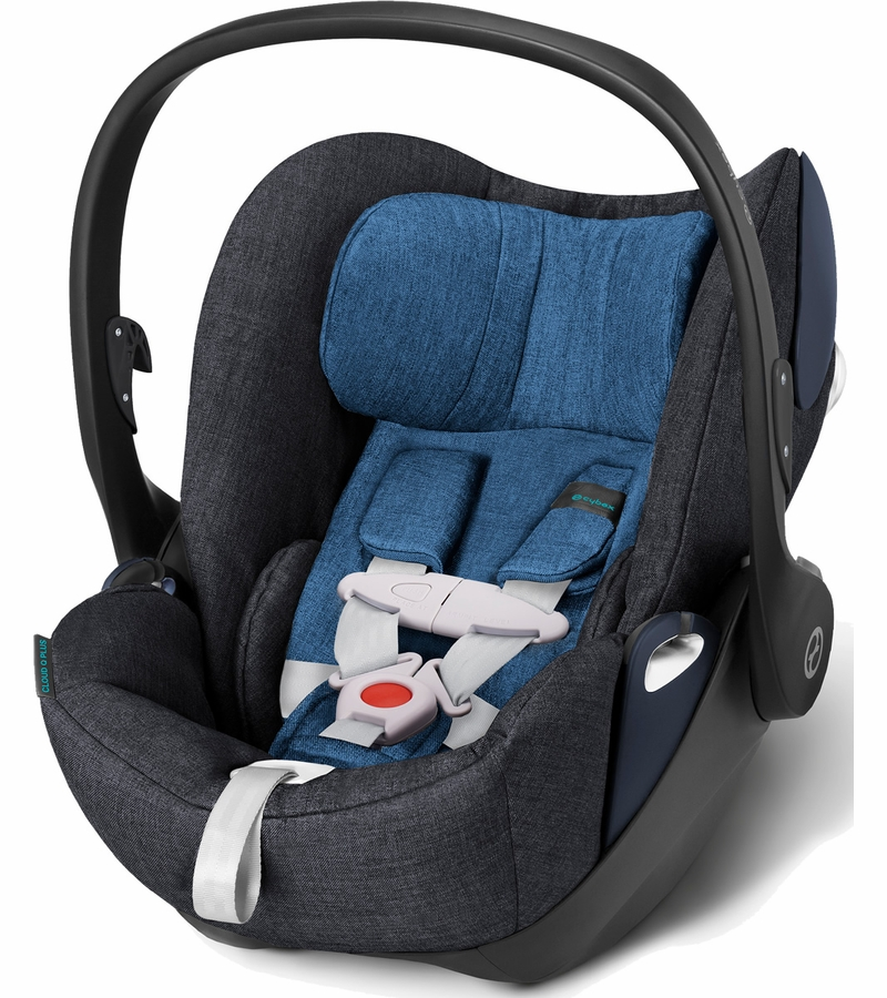 cybex cloud q plus infant car seat true blue. Black Bedroom Furniture Sets. Home Design Ideas