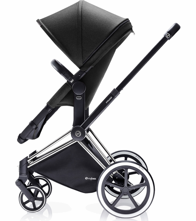 cybex priam 2 in 1 city stroller black beauty. Black Bedroom Furniture Sets. Home Design Ideas