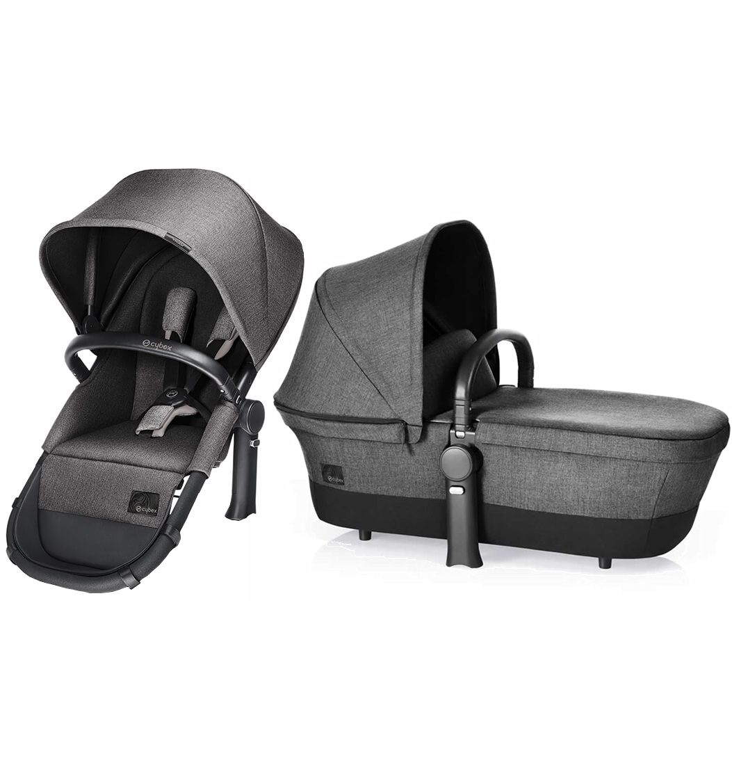 Avocent Priam 2-in-1 Light Seat - Manhattan Grey