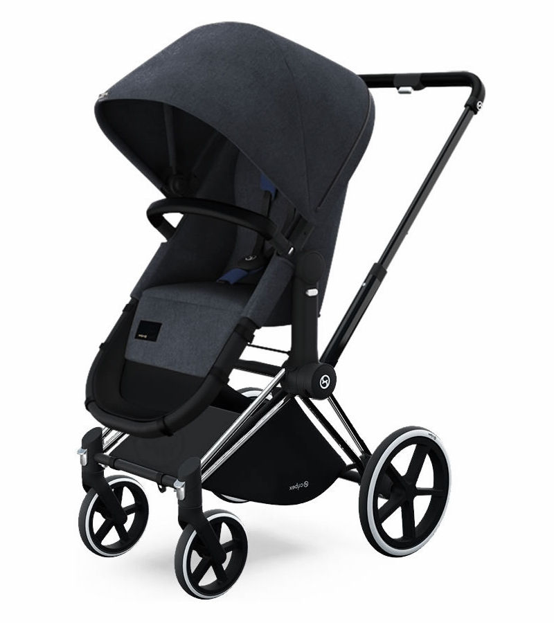 cybex priam 2 in 1 trekking stroller true blue. Black Bedroom Furniture Sets. Home Design Ideas