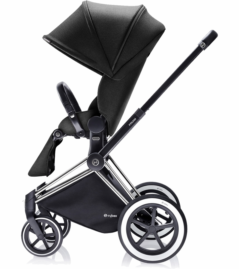 cybex priam lux all terrain stroller black beauty. Black Bedroom Furniture Sets. Home Design Ideas