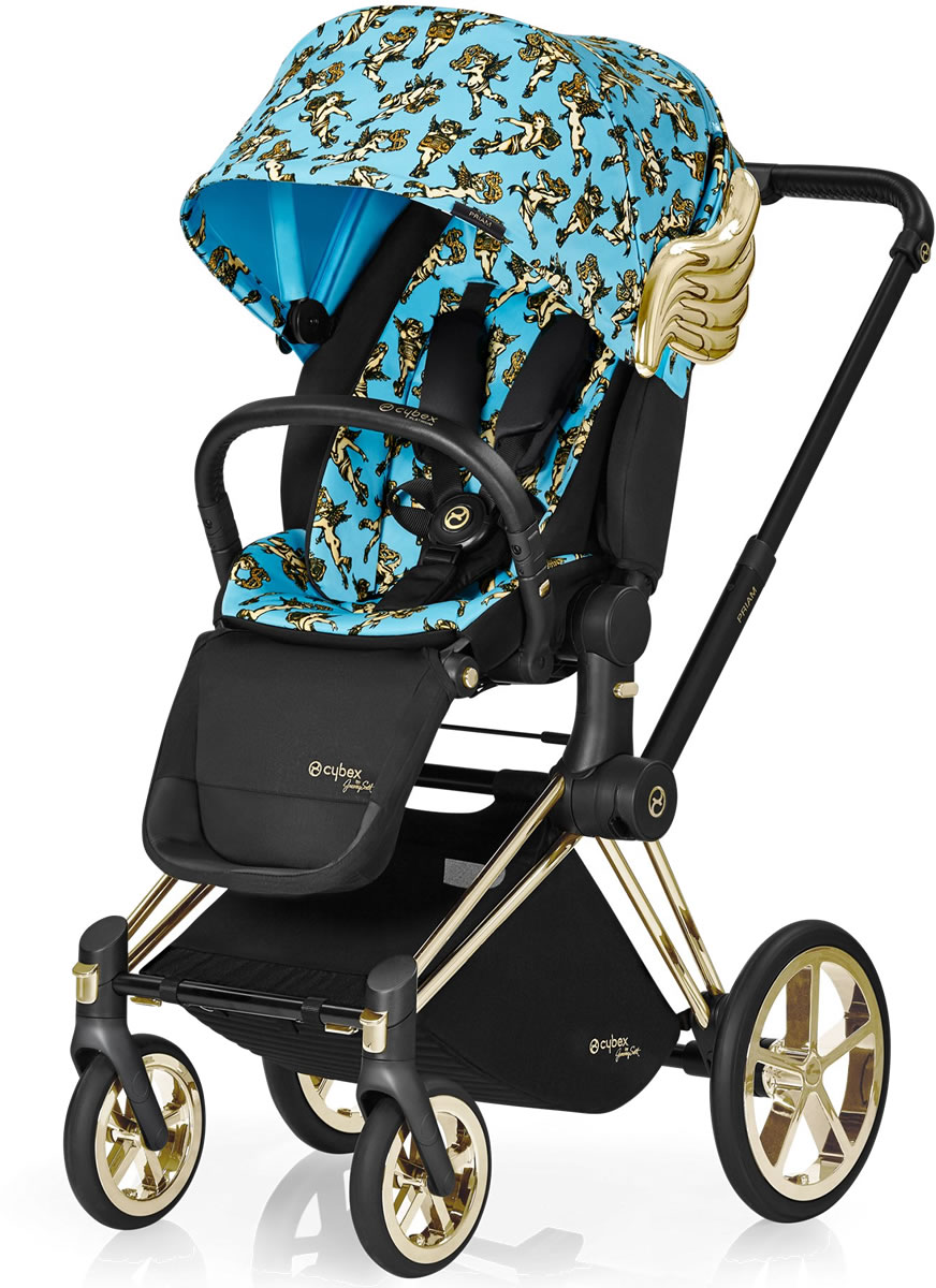 Avocent Priam Lux Trekking Stroller - Cherub Blue