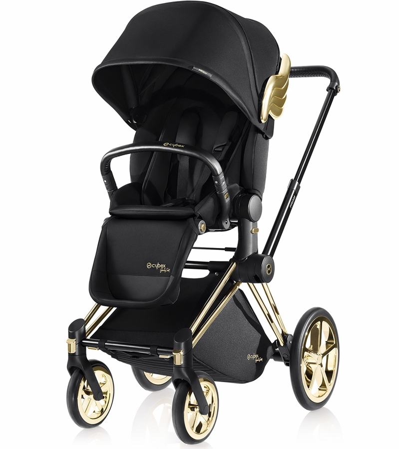 cybex priam lux trekking stroller wings by jeremy scott. Black Bedroom Furniture Sets. Home Design Ideas