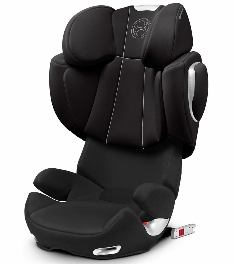 cybex solution q fix booster car seat charcoal