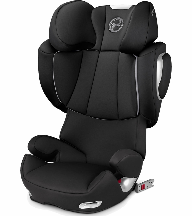 cybex solution q2 fix booster car seat black beauty. Black Bedroom Furniture Sets. Home Design Ideas